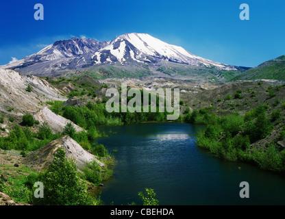 Mt St Helens of Washington State, 1998 - Stock Image