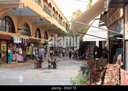 Street scene Athens - Stock Image