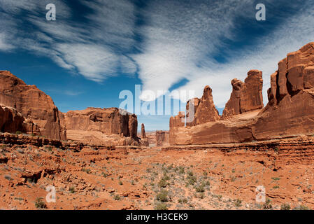 Arches National Park, Utah, USA - Stock Image