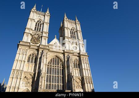 Westminster Abbey, London, United Kingdom - Stock Image
