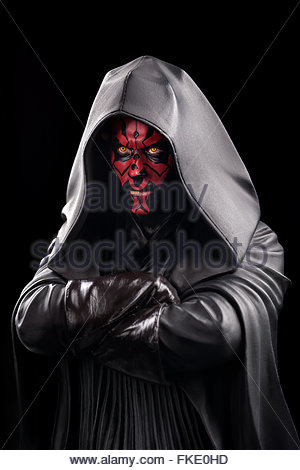 Star Wars : Darth Maul (limited edition bust by Gentle Giant Studios) - Stock Image