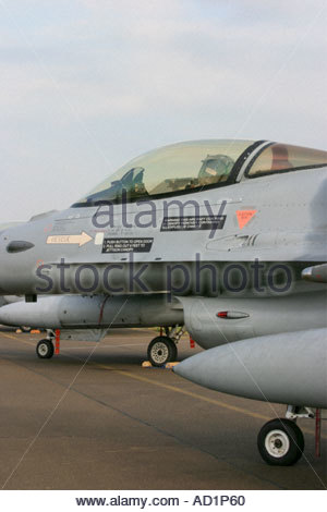 Zeltweg 2005 AirPower 05 airshow Austria Fighting Falcon F16 - Stock Image