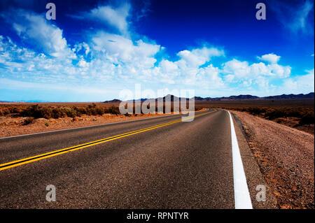 Road Through Rural Area - Stock Image