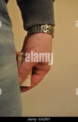 The rich man - Stock Image