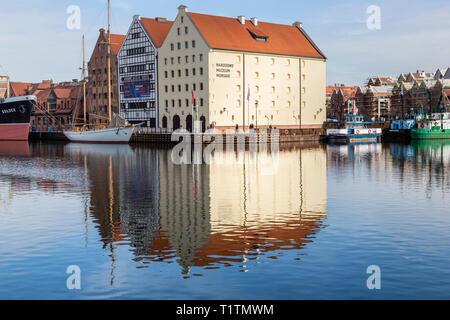 Polish National Maritime Museum, Gdansk, Poland - Stock Image