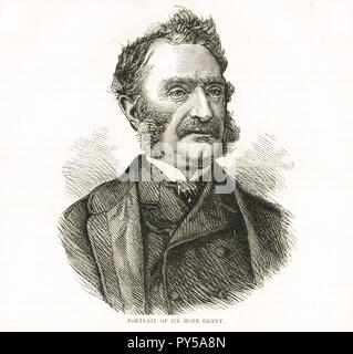 General Sir James Hope Grant, Commander of British Troops in China and Hong Kong, during the Second Opium War - Stock Image