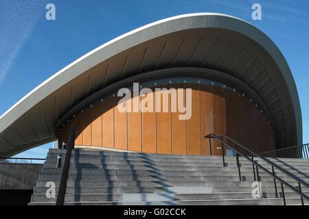 The Haus der Kulturen der Welt (House of World Cultures) in Berlin. - Stock Image