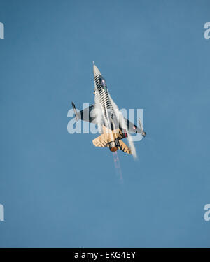 Turkish Air Force F16C Fighting Falcon RIAT 2014 - Stock Image