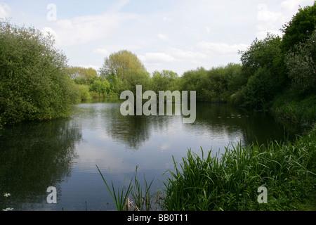 Frogmore Pits, Park Street, Hertfordshire - Stock Image