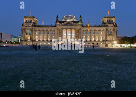 Reichstag Berlin - Stock Image