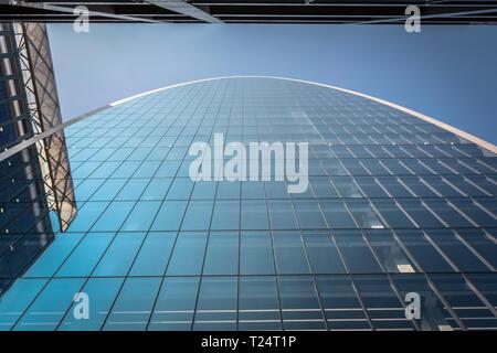 Foggo Associates' The Can of Ham skyscraper, 70 St Mary Axe, City of London, UK - Stock Image