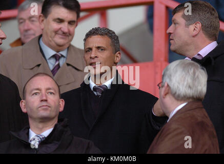 Footballer Keith Curle Sheffield United v Wolverhampton Wanderers 27 November 2004 - Stock Image