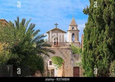 Spain, Balearic Islands, Mallorca. Palma. Biogranja La Real. Monastery Secar de La Real. - Stock Image