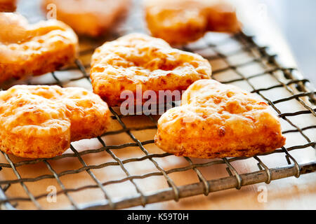 Cheddar Puffs - Stock Image