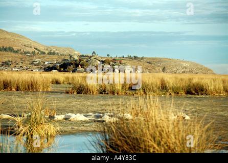 Lake Titicaca, Peru - Stock Image