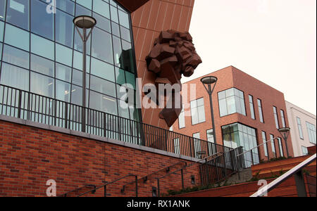 Gdansk Forum Shopping and Entertainment Centre - Stock Image