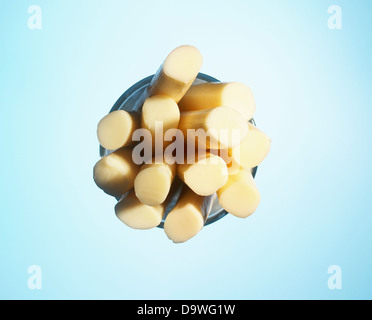 string cheese - Stock Image