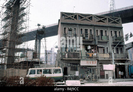 Housing in Shenzhen, China - Stock Image
