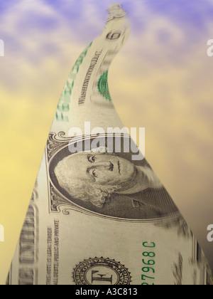 Money flow - Stock Image