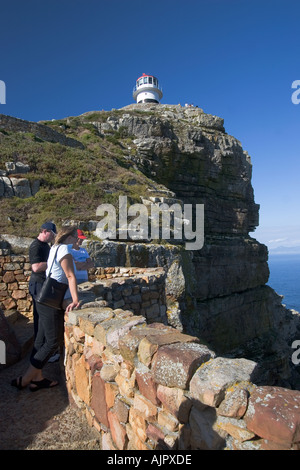 south africa cape of good hope lighthouse - Stock Image