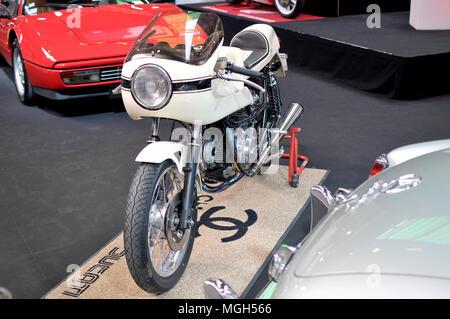 Moto Ducati 750 SS Café Racer 1973 - Stock Image