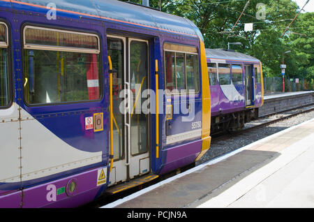 Commuter trains UK - Stock Image