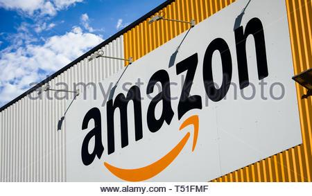Amazon logo - Stock Image