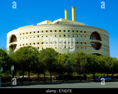 A modern building in Seville - Stock Image