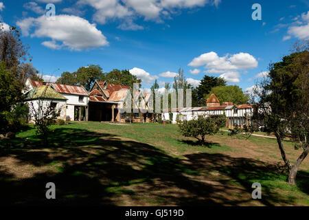 Montsalvat arists' community in Eltham, Melbourne. - Stock Image