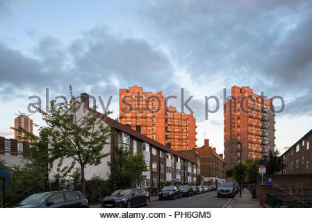 Cotton Gardens, Lambeth - Stock Image