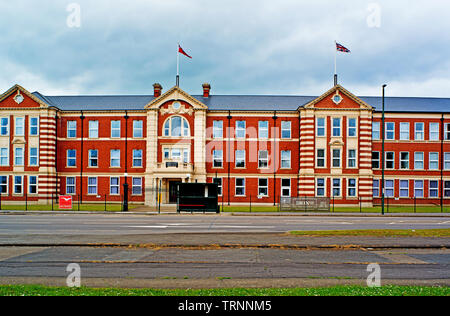 Ex Cargo Fleet Iron Works Office, Cargo Fleet, Middlesbrough, Cleveland, England - Stock Image