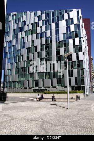 Carmine Building at Merchant Square Paddington Basin London - Stock Image