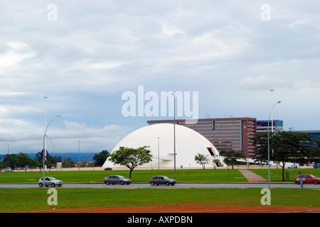 Republic Museum (Museu da Republica), Brasilia, Brazil - Stock Image
