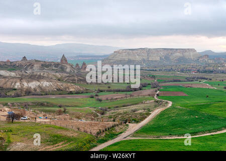 Cappadocia in Turkey, taken in April of 2019rnCreate Date                     : 2019:04:19 05:20:08rn' taken in hdr - Stock Image