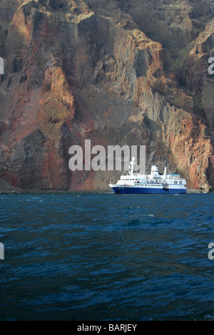 M/V Santa Cruz Tourist Ship, Isabela Island, Galapagos Islands, Ecuador, South America - Stock Image