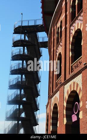 Centre Comercial Arenas, Gran Via de les Corts, Barcelona, Spain - Stock Image