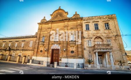 Victoria, Gozo island, Malta: the Church of Our Lady of Pompei - Stock Image