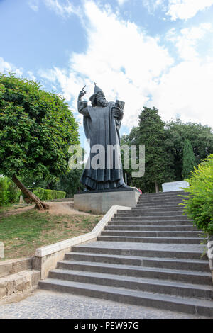 Split, Croatia. Statue of Grgur Ninski, Bishop Gregory of Nin. - Stock Image