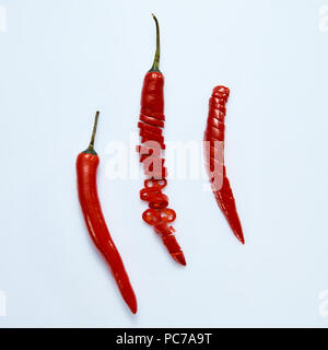 chili,pepperoni - Stock Image