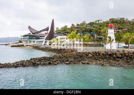 Hamilton Island Yacht Club - Stock Image