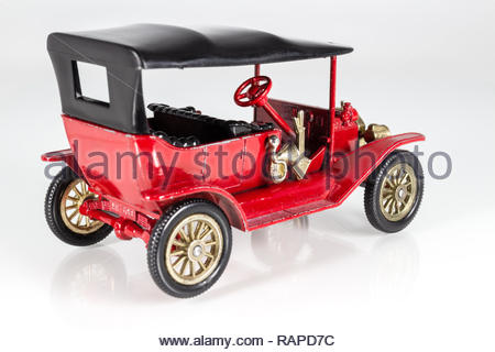Matchbox Models of Yesteryear Y-1 Ford Model T 1911 - Stock Image