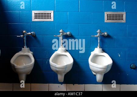 Urinals - Stock Image