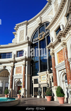 The Forum Shops at Caesars palace in Las Vegas, Nevada, - Stock Image