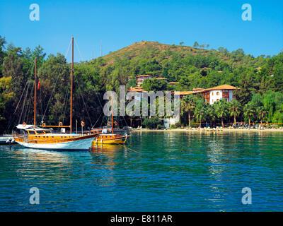 Sovalye in Fethiye Bay - Stock Image