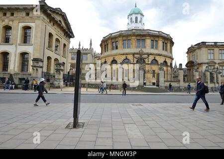 Sheldonian Theatre, Broad Street, Oxford - Stock Image