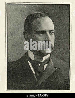 Vintage photograph of Sir Frederick Treves a prominent British surgeon, and an expert in anatomy. Treves was renowned for his surgical treatment of appendicitis, and is credited with saving the life of King Edward VII in 1902.[ - Stock Image