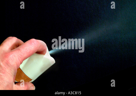 Hair Spray - Stock Image