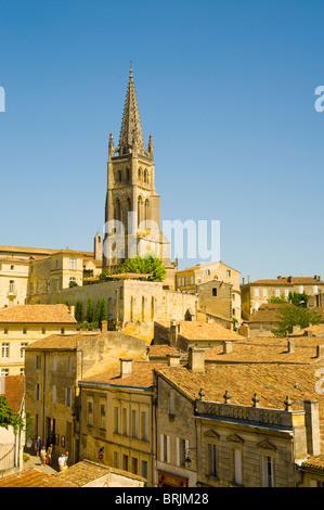 Saint Emilion, Aquitaine, France - Stock Image