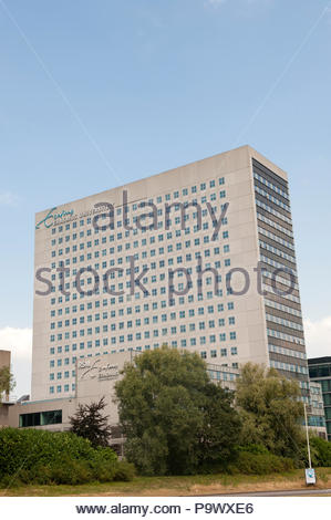 Rotterdam The Netherlands Erasmus university. - Stock Image