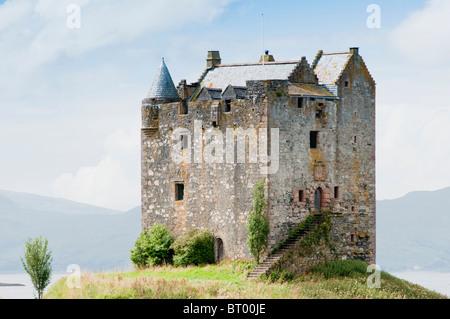 Eilean Donan Castle  in Loch Alsh, Scotland - Stock Image